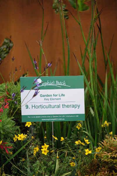 sign in garden