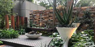 designed garden