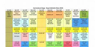 program of talks