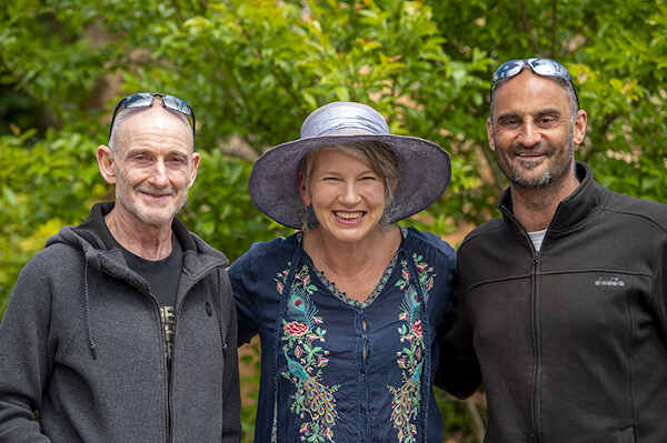 open garden visitors